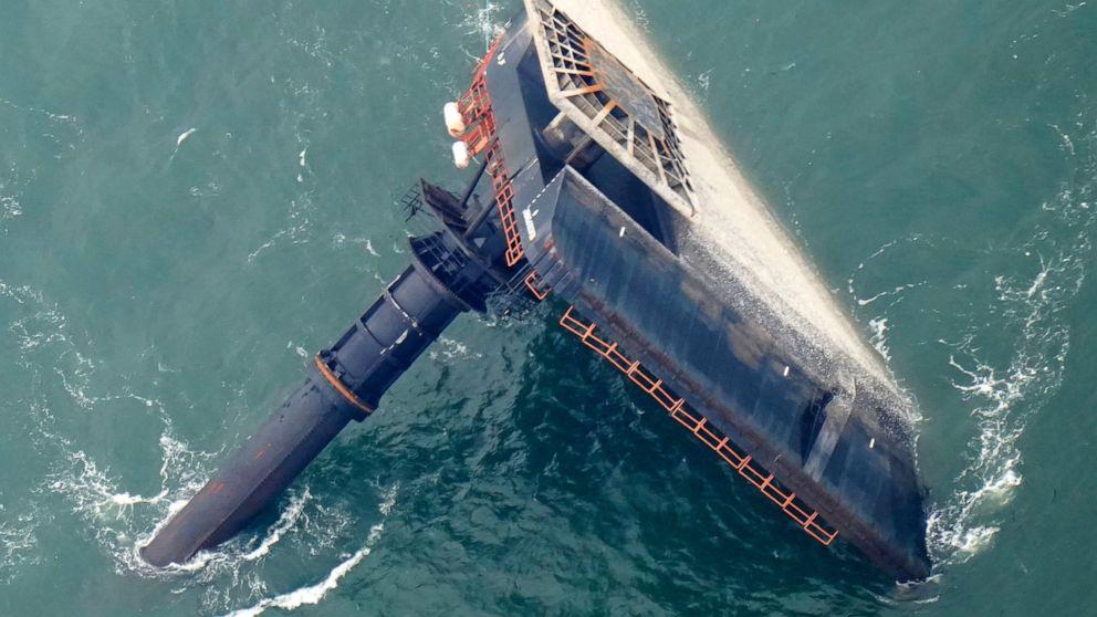 Survivor of capsized lift boat details escape during hearing