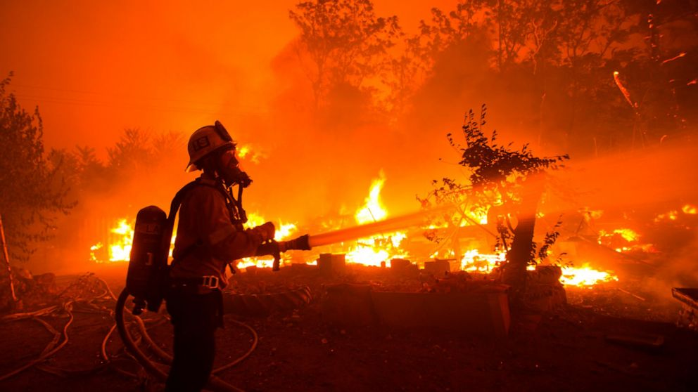 Crews Try To Tame California Wildfire As Heat Wave Arrives Abc News