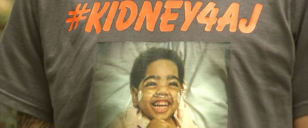 PHOTO: The parents of 2-year-old A.J. Burgess ar e hopeful that his father will be re-approved as his kidney donor and that the transplant will take place before January.