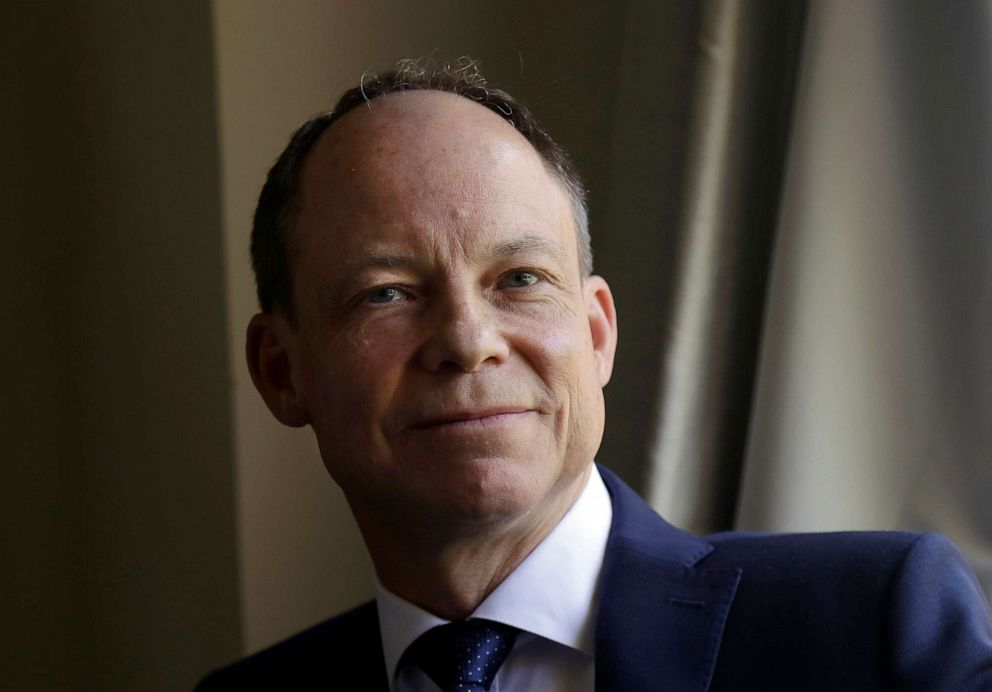 PHOTO: In this May 15, 2018, file photo, Judge Aaron Persky poses for photos in Los Altos Hills, Calif.