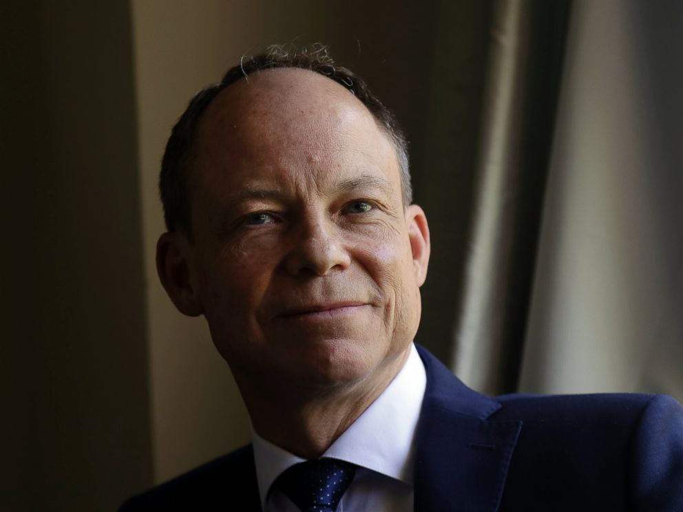 In this May 15, 2018 file photo, Judge Aaron Persky poses for photos in Los Altos Hills, Calif.