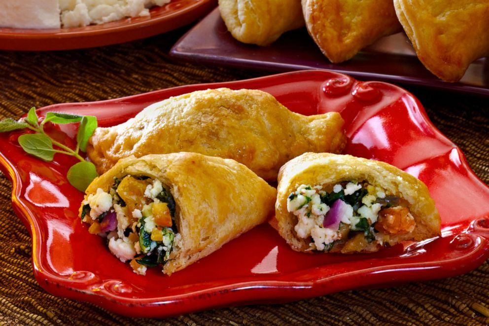 PHOTO: Aaron Sanchezs sweet and savory empanadas with queso fresco
