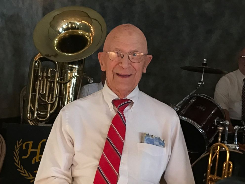PHOTO: Elmer Hayes, 91, is a founding member of the Hayes Boys Orchestra.