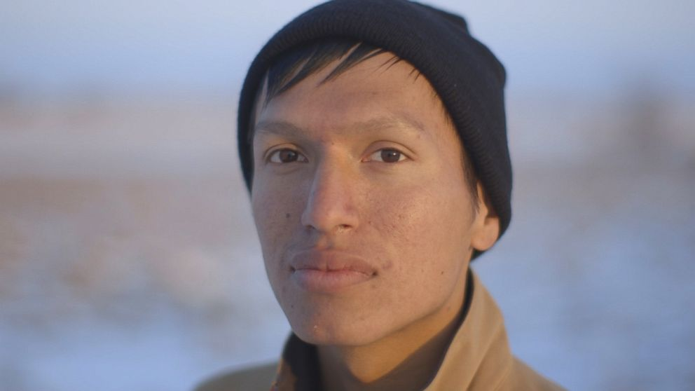Danny Grassrope, 25, Lower Brule Sioux, International Indigenous Youth Council Member