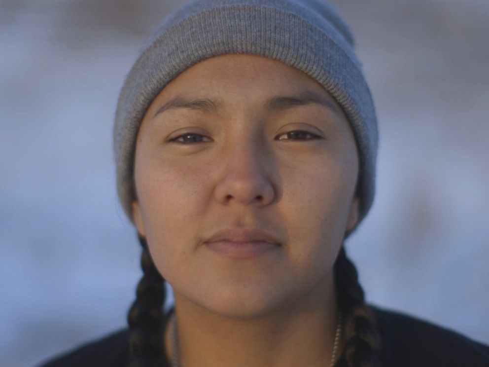 PHOTO: Lauren Howland, 21, Apache/Navajo, International Indigenous Youth Council Co-Founder