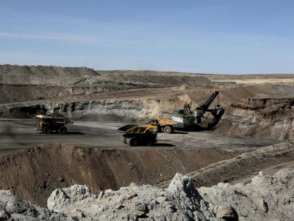 PHOTO: Surface or open-pit mining is the type of mining done in the Powder River Basin.