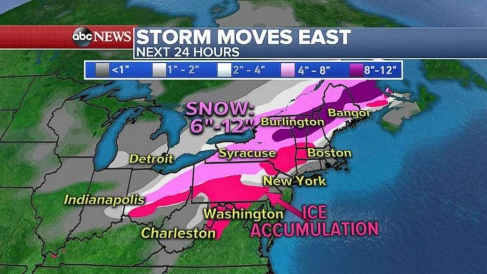 Scores of flights canceled as storm pummels US Midwest