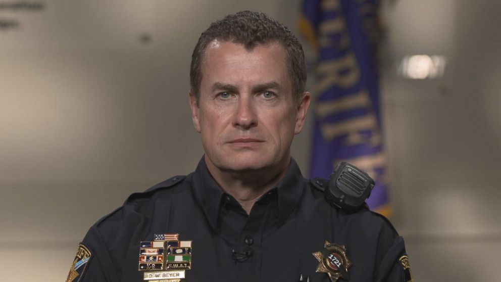 Douglas County Sheriffs Department Sgt. Dave Beyer has served 28 years in law enforcement.