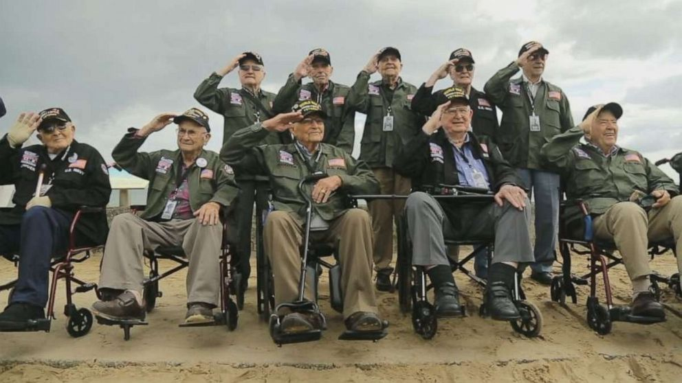 World War II veterans return to Normandy for 75th D-Day