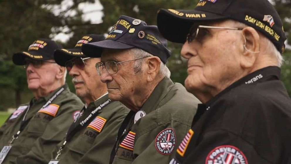 World War Ii Veterans Return To Normandy For 75th D Day Anniversary You Can T Forget Abc News