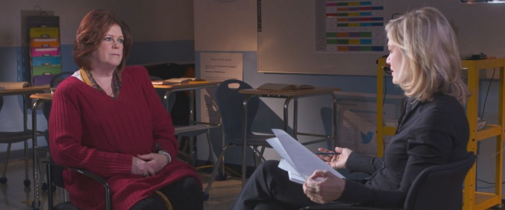Mary Ellen O'Toole, a retired senior FBI profiler and psychologist, is seen here during an interview with Diane Sawyer.