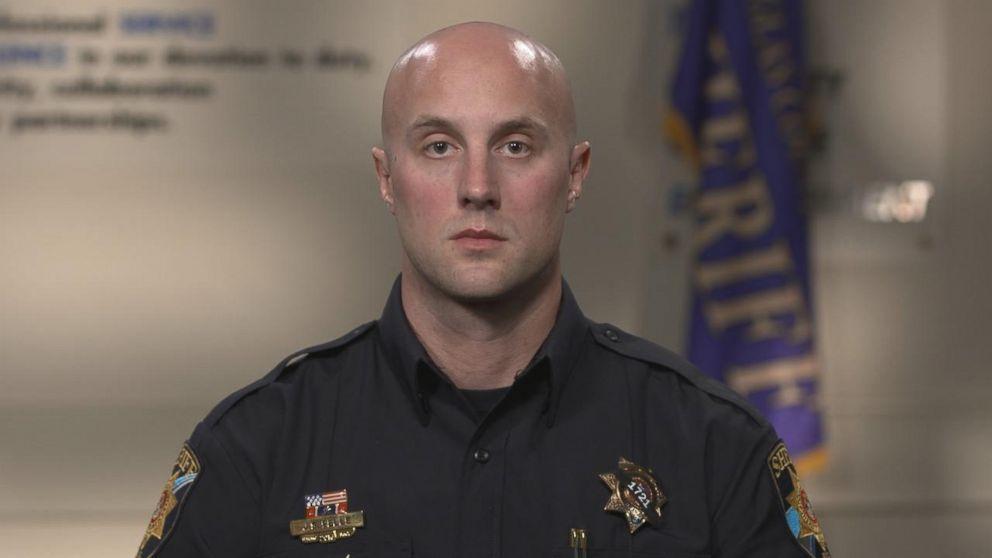Douglas County Sheriffs Department Deputy Jeff Pelle has served six years in law enforcement.