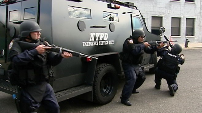 VIDEO: NYPD terror exercise simulates a Mumbai-style attack on civilians.