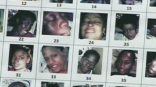 VIDEO: 180 images of women were found on the suspected serial killers property.