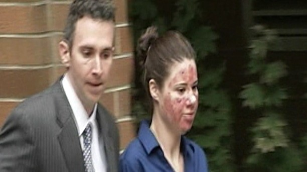 Video: Acid attack hoax girl pleads guilty.