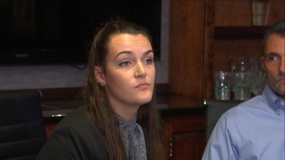 UNC sophomore Delaney Robinson, 19, discussed what she calls are delays on holding her alleged attacker accountable in a press conference Tuesday.