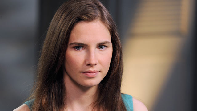PHOTO: Amanda Knox speaks with ABC News Diane Sawyer in an exclusive interview.