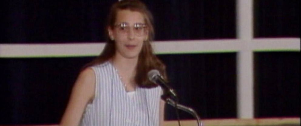 """PHOTO: Amy Marie Dimak won the Scripps National Spelling Bee in 1990 after correctly spelling the word """"fibranne""""."""