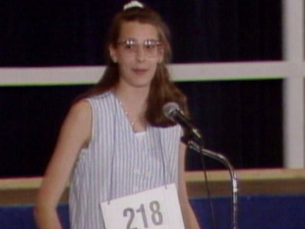 PHOTO: Amy Marie Dimak won the Scripps National Spelling Bee in 1990 after correctly spelling the word fibranne.