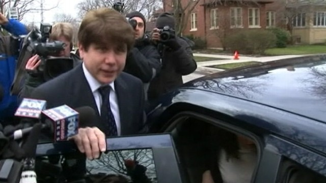 VIDEO: Former Illinois governor Rod Blagojevich was convicted on corruption charges.
