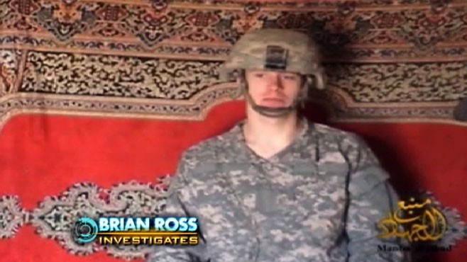VIDEO: Bowe Bergdahl appears alive, 18 months after going missing in Afghanistan.