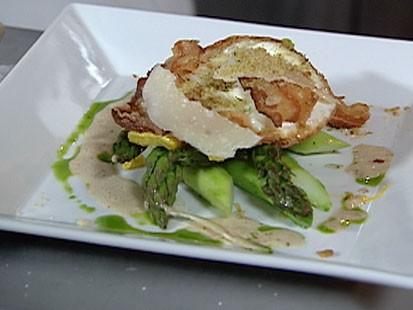 VIDEO: Roasted Asparagus with Vinaigrette