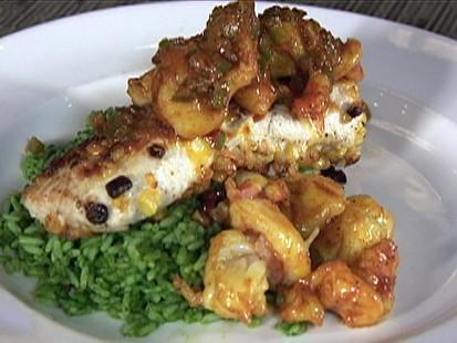 Corn-Crusted Tilefish