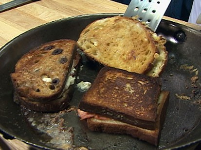 VIDEO: Three Varieties of Grilled Cheese