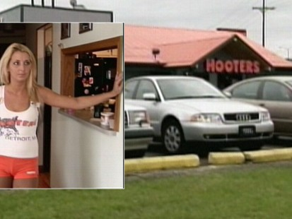 Video: Hooters waitress says Hooters discriminated against her because of her weight.