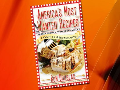 "VIDEO: Ron Douglas talks us through his book ""Americas Most Wanted Recipes."""