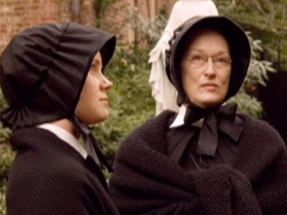 "Meryl Streep and Amy Adams in ""Doubt"""