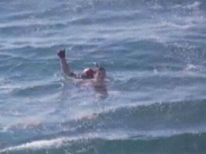 Picture of ocean rescue.