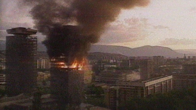 June 10 1992 Bosnian War Sarajevo Under Siege Video Abc News