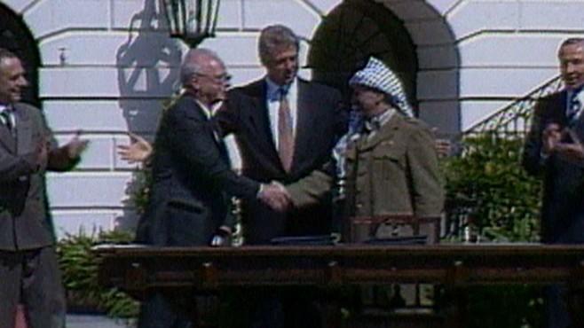 Sept 13 1993 Plo Israeli Peace Agreement Video Abc News