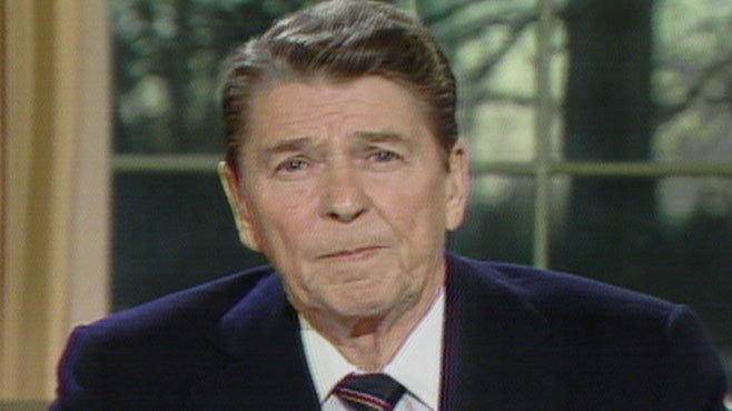 VIDEO: Reagan on Challenger Disaster