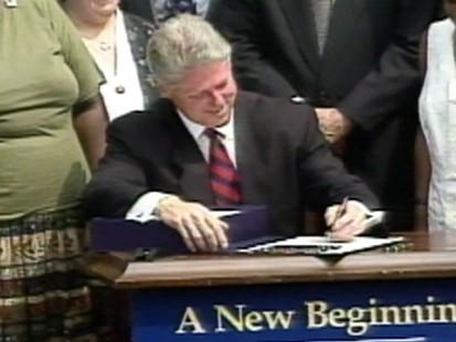 VIDEO: Bill Clintons Welfare Reform