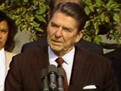 VIDEO: President Reagan Approves MLK Day