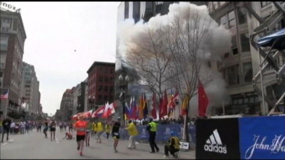 April 15 2013 Boston Marathon Bombing Video Abc News