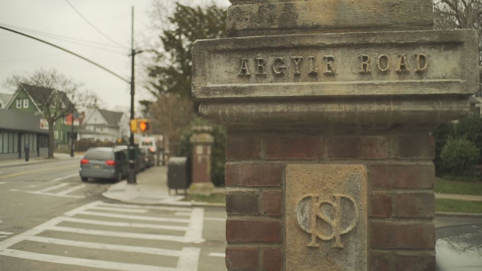 A street sign for Argyle Road in Brooklyn, New York.