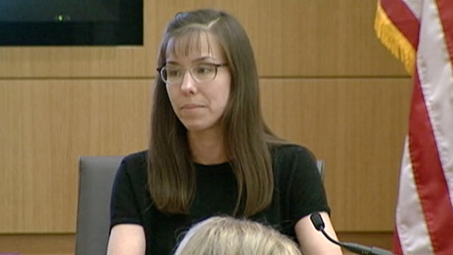 PHOTO: Jodi Arias takes the stand during her trial on Feb. 4, 2013.