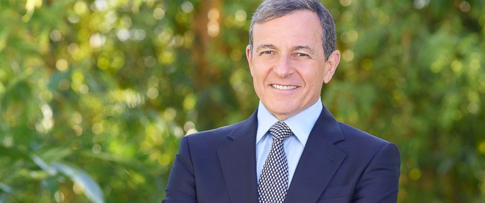 PHOTO: Robert A. Iger, Chairman and Chief Executive Officer of The Walt Disney Company.