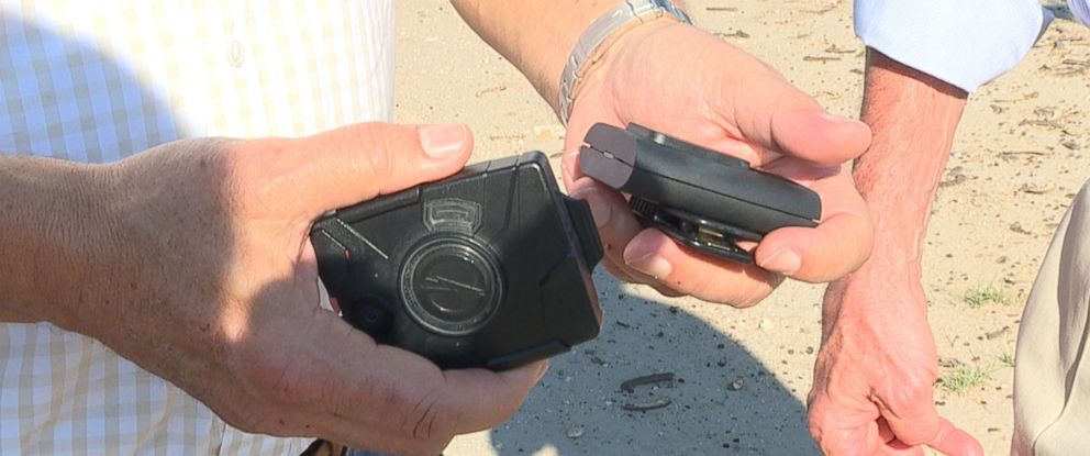 ABCs Jim Avila reports on U.S. Customs and Border Patrol agents using body cameras.