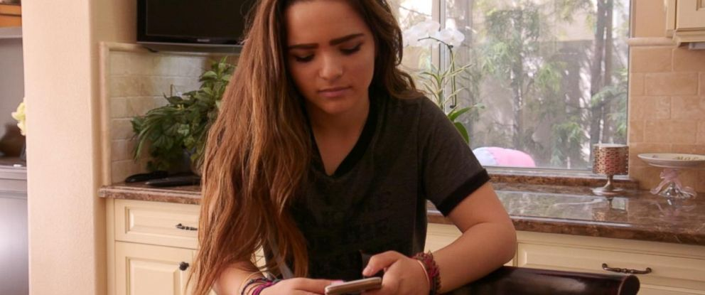 Brooke is a California teen who became obsessed with social media and being on her phone.