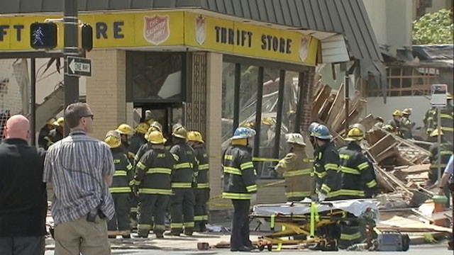 1 Dead, 13 Hurt in Philadelphia Building Collapse