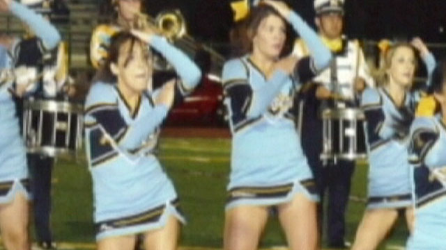 PHOTO: An article in River City High Schools yearbook about the short skirts of the cheerleaders has prompted school officials to stop production on the yearbook.