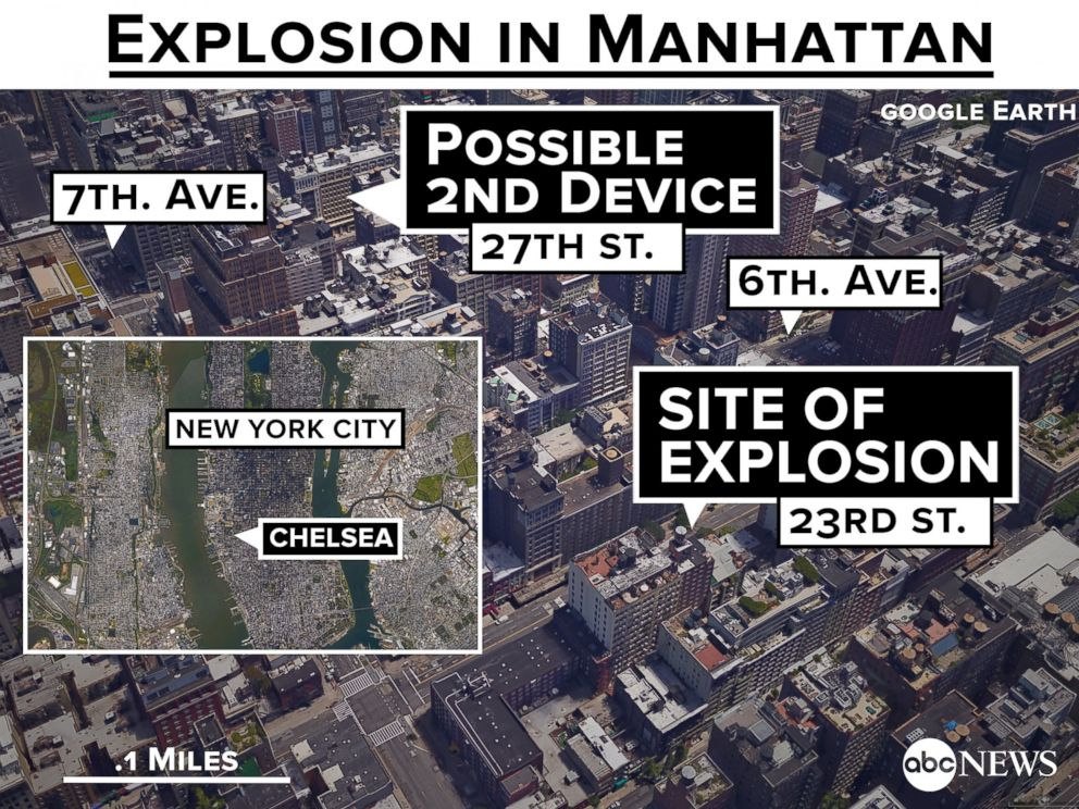 PHOTO: Explosion in Manhattan Injures at Least 29