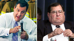 PHOTO Chris Christie gestures as he speaks at a gathering in Ramsey, N.J. in this March 24, 2010 file photo./ Rep. Jerrold Nadler is shown in this 1998 file photo.