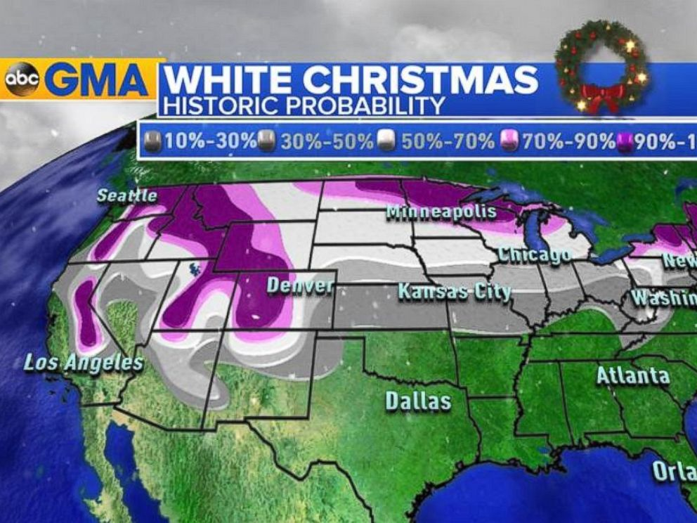 White Christmas Forecast.Christmas Week Forecast What S In Store For The Holiday