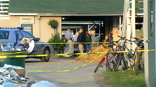 PHOTO: Police are still searching for clues, after the body of 48-year-old Adan Fabian Perez, was found in a Churchill Downs barn.
