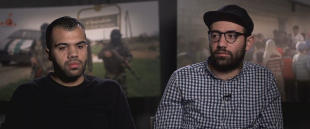 Aziz Alhamza and Hamoud Al-Mousa grew up in Raqqa and were motivated to start their activist group to provide footage that serves as a contrast to ISISs glossy, highly produced recruitment videos.